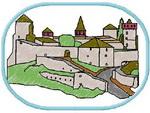 Шеврон крепость