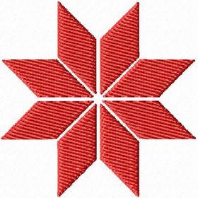 Звезда Алатырь (Крест Сварога)