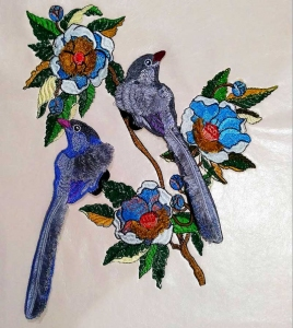 Вышивка птиц