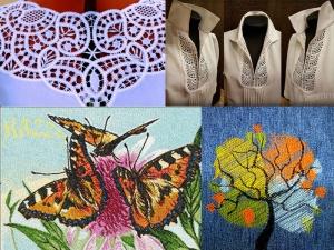 Дизайны вышивки мастеров форума