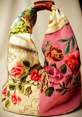 Аксессуары (вышитые украшения, сумки, шляпки, обувь...)