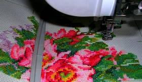 Курсы вышивки крестиком на машинке
