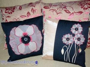 Вышиаем декоративные подушки