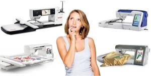 Выбор Вышивальной машины