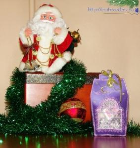 Новогодние вышитые подарки