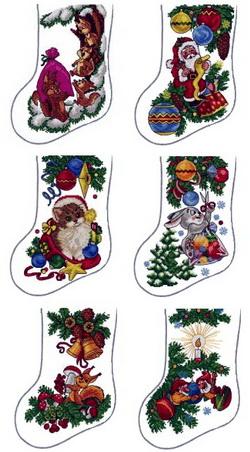 ABC Woods Christmas Stockings