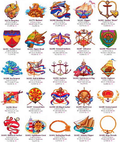 Коллекция Embroidery Oesd Pack 11049
