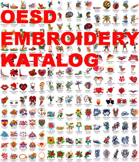 Каталог вышивок OESD Embroidery