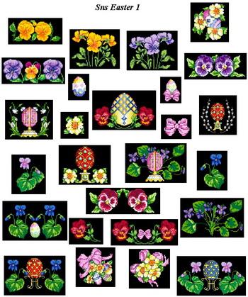 Коллекция SNS Designs SNS Easter 1