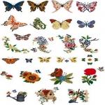 Коллекция Brother Embroidery Card 47 Butterflies
