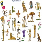 AD1244 Egyptian Collection I, Amazing Designs