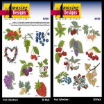 AD1263 Fruit Collection I, Amazing Designs