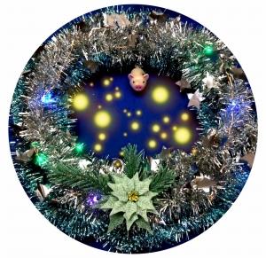 Рождественский венок на каждый год