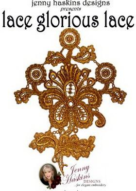 Lace Glorious Lace ( Jenny Haskins Designs ).