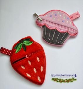 Вышиваем кошелек для девочки