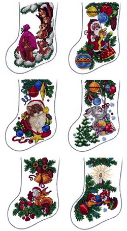 ABC Woods Christmas Stockings
