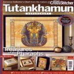 Cхемы для вышивки крестиком Египет Тутанхамон.