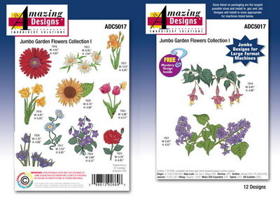 Коллекция Amazing Designs ADC5017 Jumbo Flowers 2