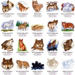 Коллекция Embroidery Oesd Pack 11854 Wolf Song 1