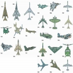 AD1217 Aircraft Collection II, Amazing Designs